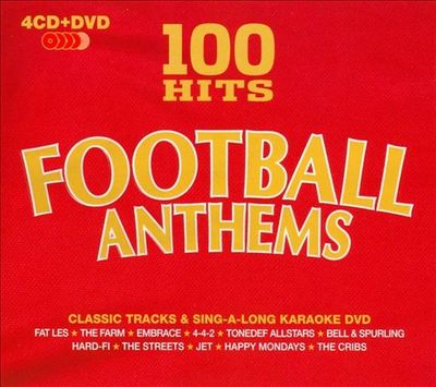 VA-100 Hits Football Anthems 4CD 2010